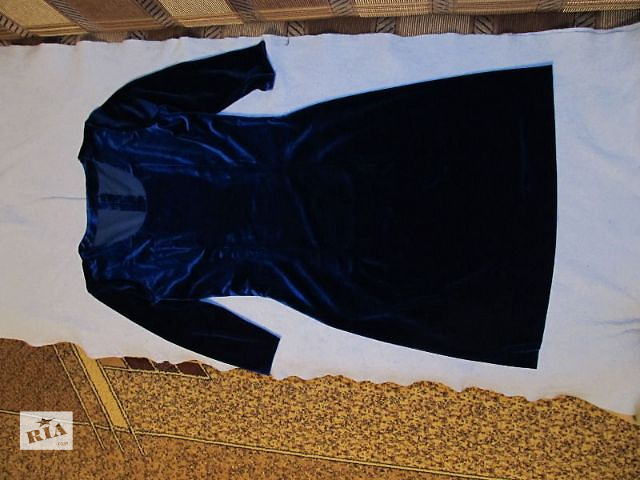 продам Нарядное бархатное платье бу в Киеве