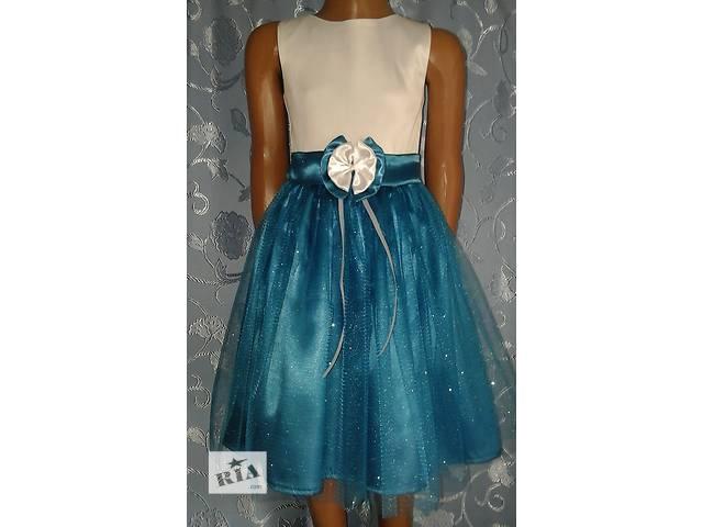 продам Нарядное детское атласное платье «Блеск», модель № 25 бу в Хмельницком