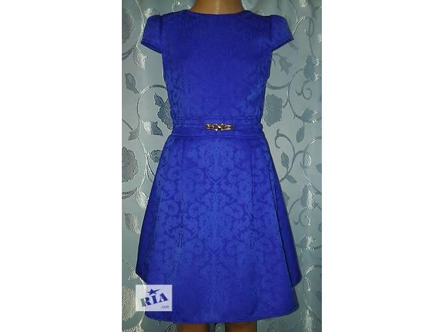 бу Нарядное детское платье, синее, модель № 56 в Хмельницком