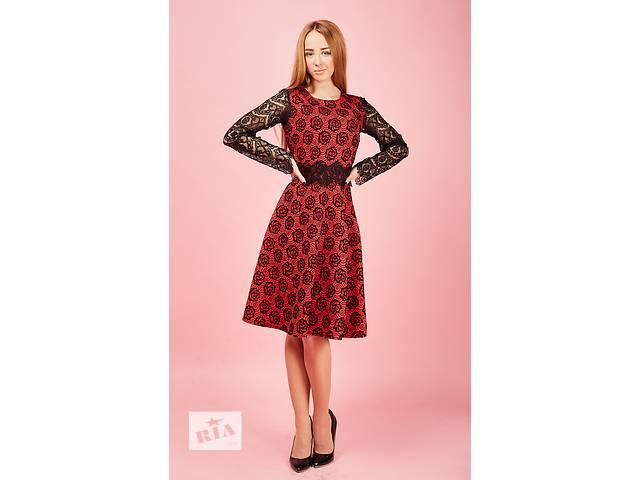 бу Нарядное платье с цветами в Хмельницком