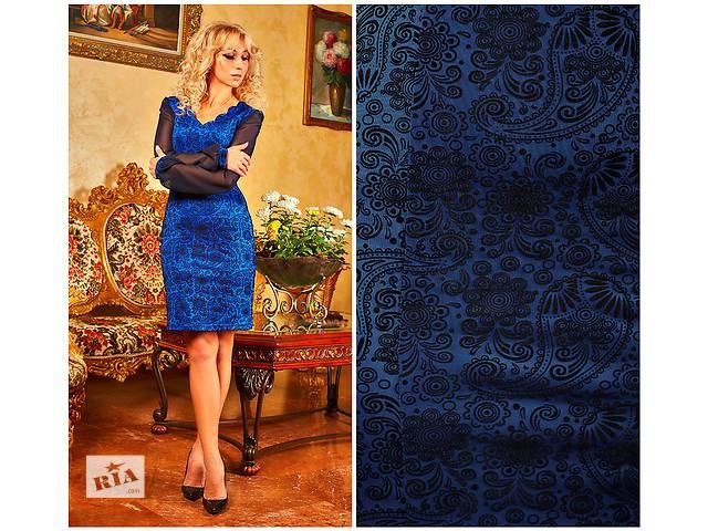 купить бу Нарядное платье с узором есть большой размер в Хмельницком