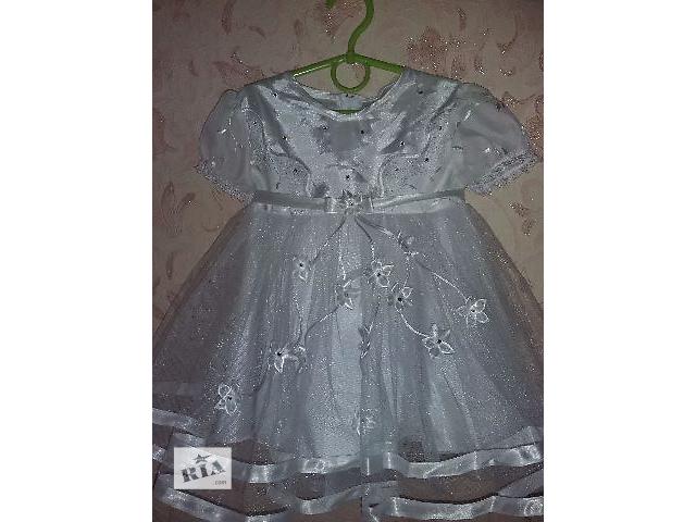 продам Нарядное платье на 2-3года бу в Киеве