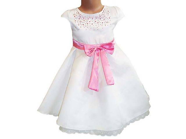 Стразы на детское платье