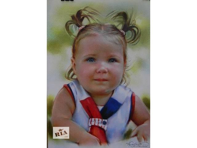купить бу Нарисую детский портрет по фото на заказ в Харькове