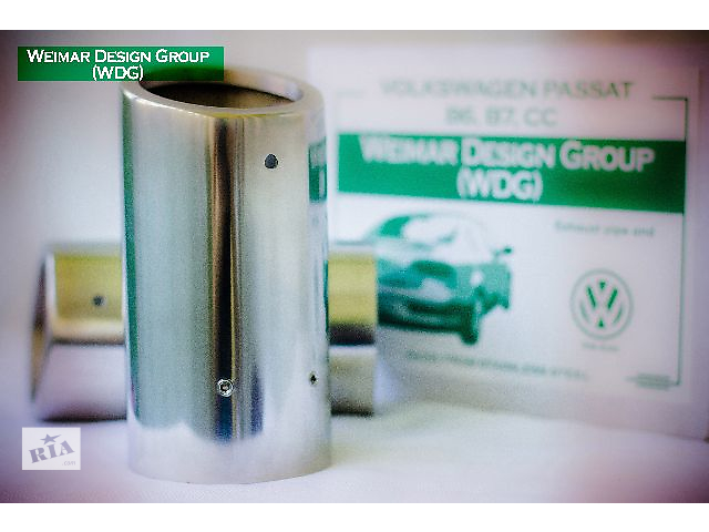 Насадка на глушитель Volkswagen Passat B6, Passat B7, CC- объявление о продаже  в Харькове