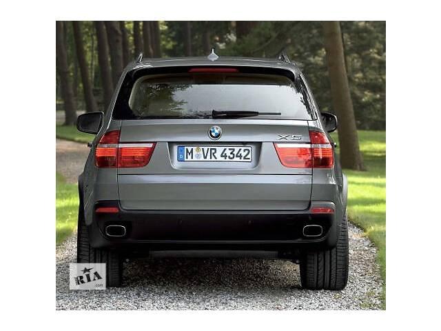 Насадки на глушитель BMW X5 E70 квадратные в стиле 4.8- объявление о продаже  в Луцке