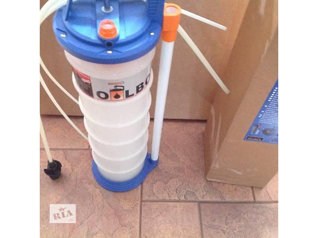 продам Насос для откачки масла механический AZUL OH-706 обьем 6 литров с 3-мя насадками разного диаметра бу в Днепре (Днепропетровск)