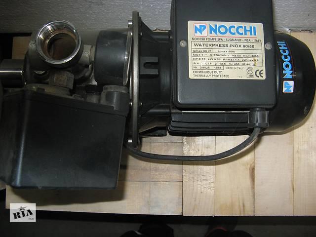 купить бу Насос NOCCHI центробежный INOX 60/50 0,75кВт в Львове
