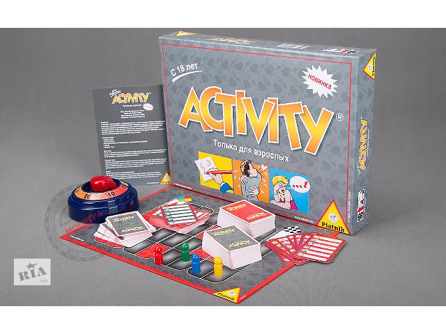 Игра Активити для взрослых  Игротайм