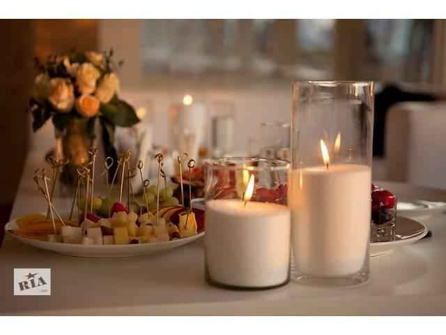 купить бу Насыпные свечи для ресторанов, торжеств, пальмовый воск. в Харькове