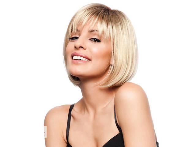 продам Натуральный парик блонд Ирина, из натуральных волос, каре + Видео и фото бу в Киеве