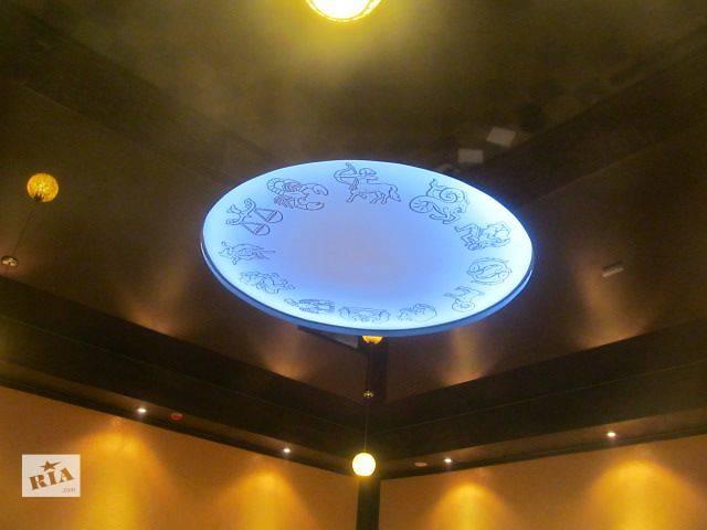 продам Натяжной потолок с подсветкой по периметру бу в Ровно