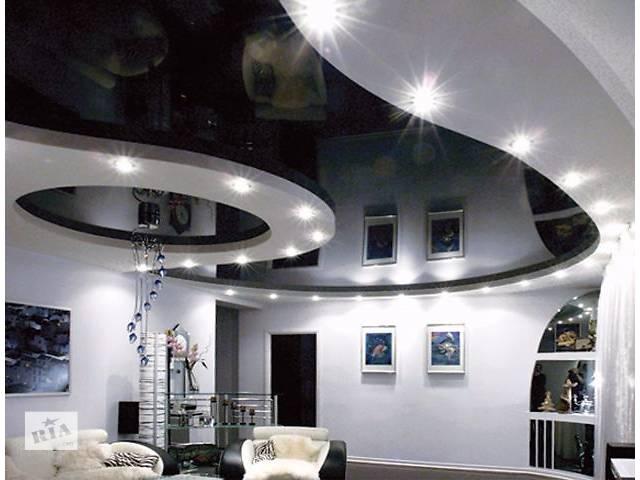 бу натяжные потолки бесшовные (глянец, мат, сатин,перламутр, галактик) более 100 оттенков, гарантия 12 лет в Житомире