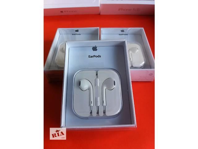 купить бу Наушники Apple Earpods iphone 4 5 5s 6 гарнитура айфон наушники earpods в Днепре (Днепропетровске)