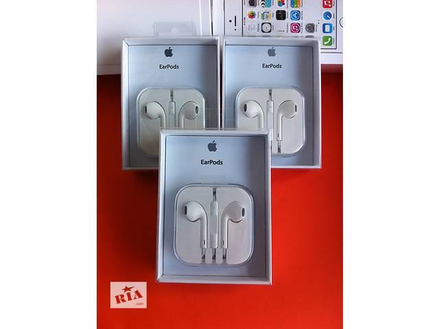 Наушники Apple Earpods iphone 4 5 5s 6 гарнитура айфон наушники earpods- объявление о продаже  в Полтаве