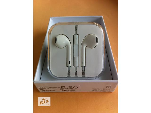 продам Наушники Apple Earpods iphone 4 5 5s 6 гарнитура айфон наушники earpods бу в Днепре (Днепропетровске)