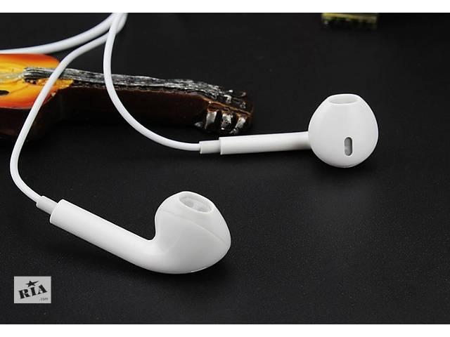 купить бу Наушники гарнитура Apple iPad, iPod, iPhone,MP3 (копия).Отличный звук! в Сумах