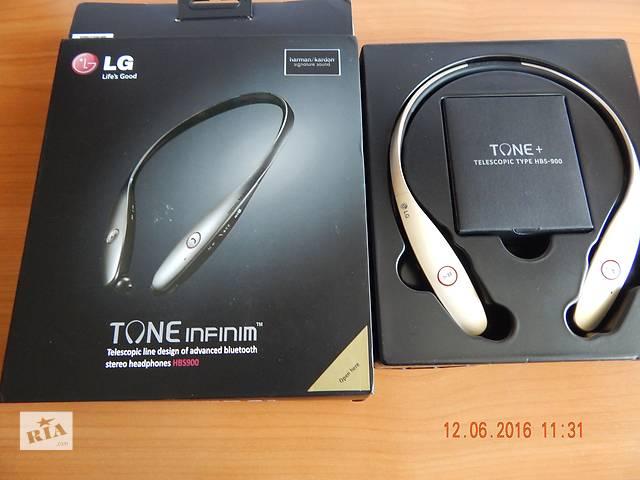 продам Наушники/гарнитура  LG Tone Infinim (HBS-900) Gold бу в Миргороде