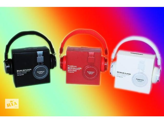 купить бу Наушники с MP3 Плеером + FM Радио NIA MRH-8809 в Виннице