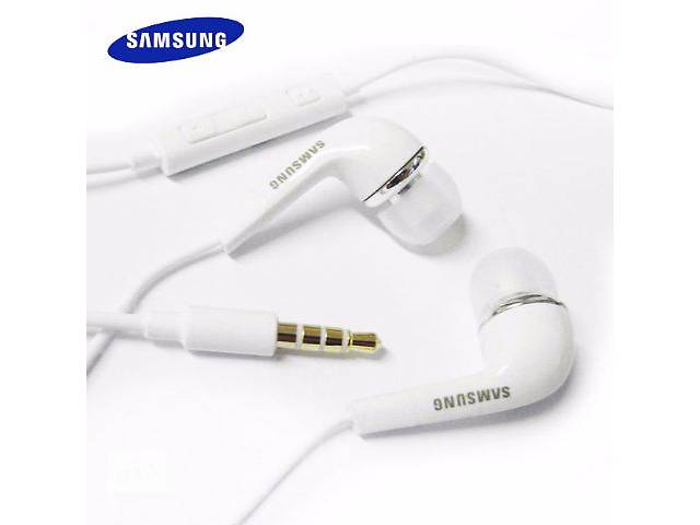 купить бу Наушники с микрофоном,Samsung Гарнитура Samsung EHS64AVFWE(GH59-11720A) PVC N7000/i9220 Galaxy Note в Никополе (Днепропетровской обл.)