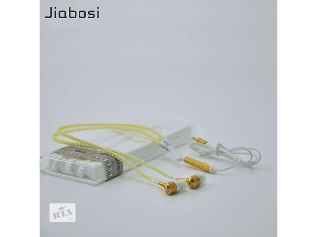 Наушники вакуумные на молнии Zipper Earphones цвет желтый- объявление о продаже  в Киеве