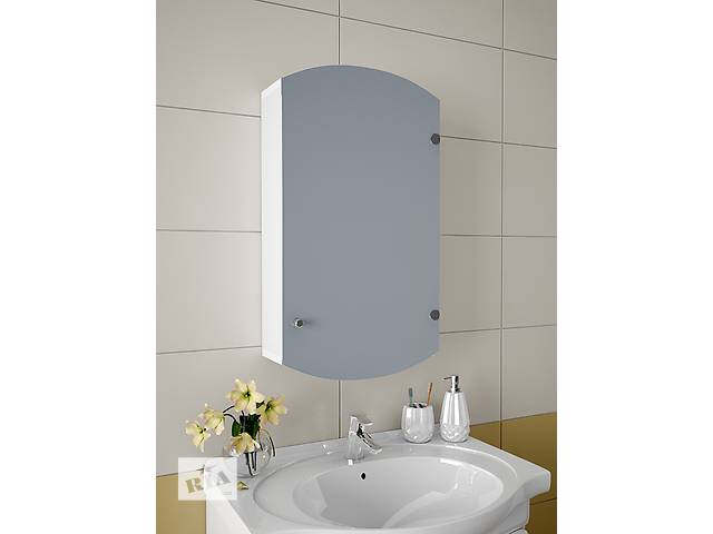 бу Навесной, зеркальный шкаф для ванной комнаты А-47 в Киеве