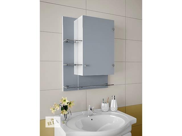 купить бу  Навесной, зеркальный шкаф для ванной комнаты А-75 в Киеве