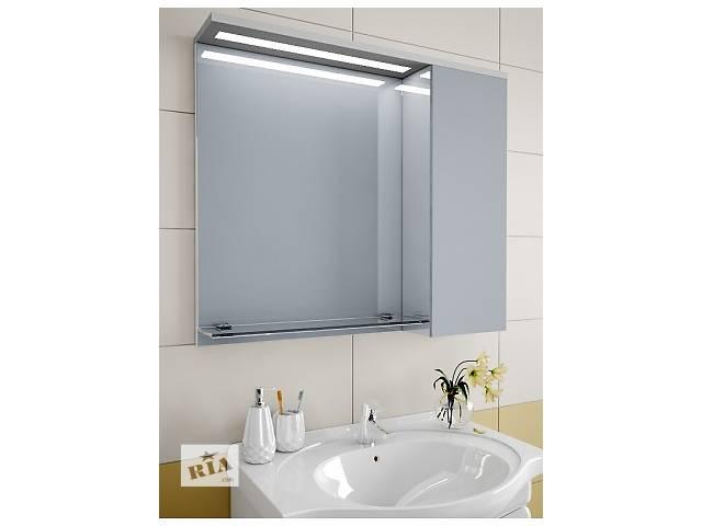 купить бу Навесной, зеркальный шкаф для ванной комнаты LZ-81 в Киеве
