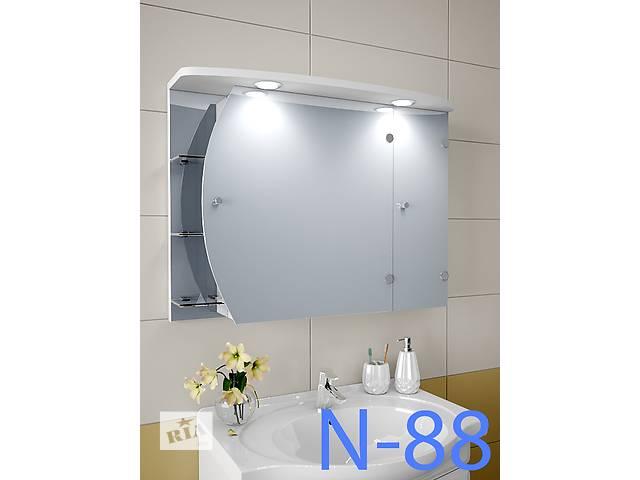 купить бу Навесной, зеркальный шкаф для ванной комнаты N-88 в Киеве