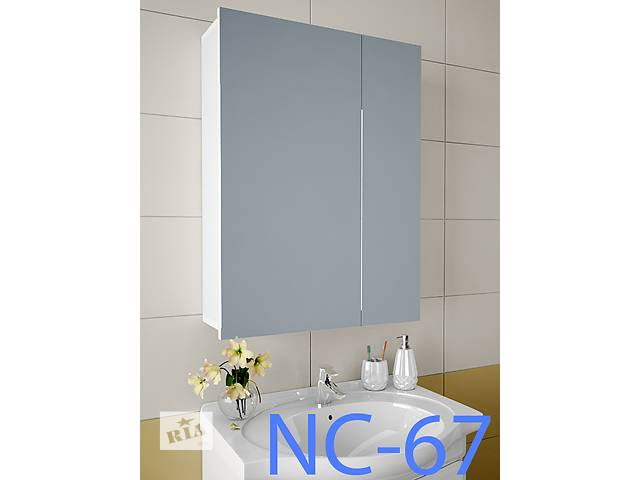 купить бу Навесной, зеркальный шкаф для ванной комнаты NC-67 в Киеве