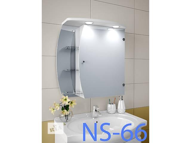 бу Навесной, зеркальный шкаф для ванной комнаты NS-66 в Киеве