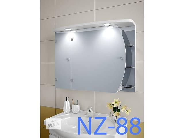 купить бу Навесной, зеркальный шкаф для ванной комнаты NZ-88 в Киеве