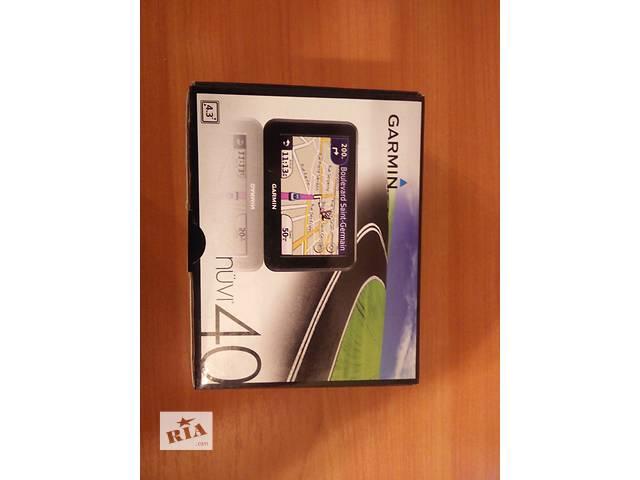 продам навигатор Garmin nuvi40 бу в Киеве
