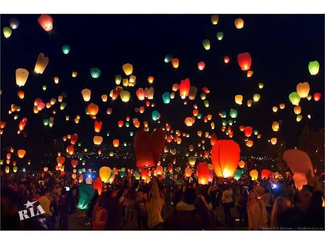 продам Небесные фонарики Львов, Воздушные фонарики Львов, летающие фонарики Львов, китайские фонарики Львов бу  в Украине