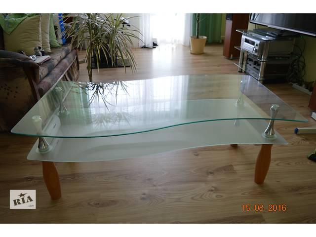 купить бу недорого продам оригинальный журнальный столик из стекла в Полтаве