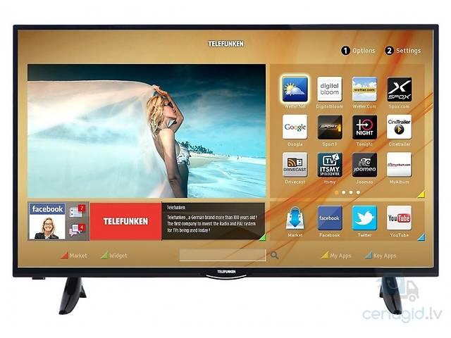 """Немецкий телевизор Telefunken D40F287 40"""" Smart-Tv Wi-Fi Full-Hd -35%- объявление о продаже  в Львове"""