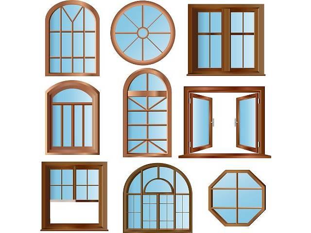 бу Нестандартные окна, эркерные, арочные, треугольные, трапециевидные в Николаеве