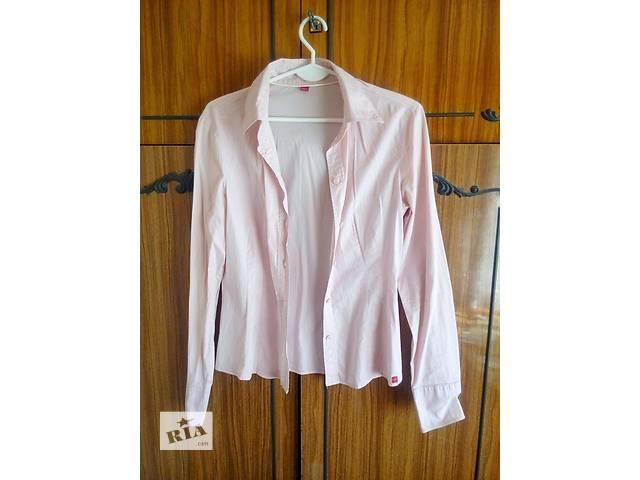 купить бу Нежно-розовая рубашка Esprit, М в Виннице