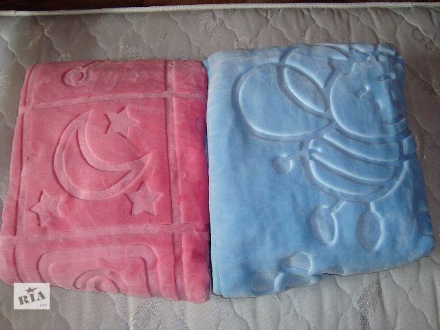 бу Нежные теплые одеяла в кроватку или коляску в Харькове