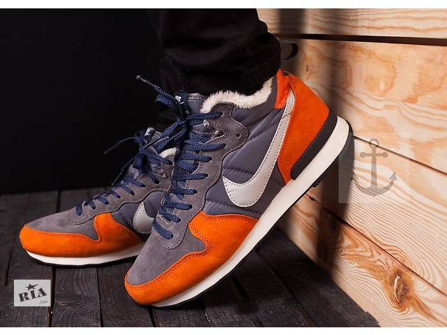 купить бу Nike Internationalist Mid Orange&Gray в Львове