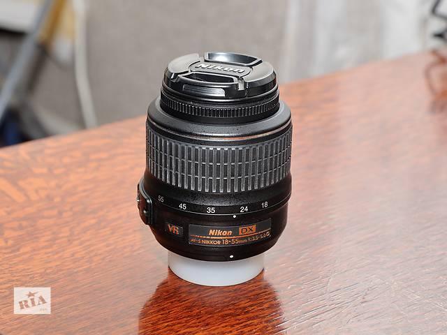 Nikon 18-55 со стабилизатором- объявление о продаже  в Ровно