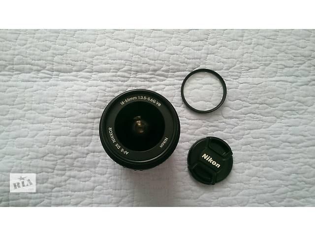 бу Nikon 18-55mm 1:3.5-5.6G VR AF-S DX Nikkor в Умани