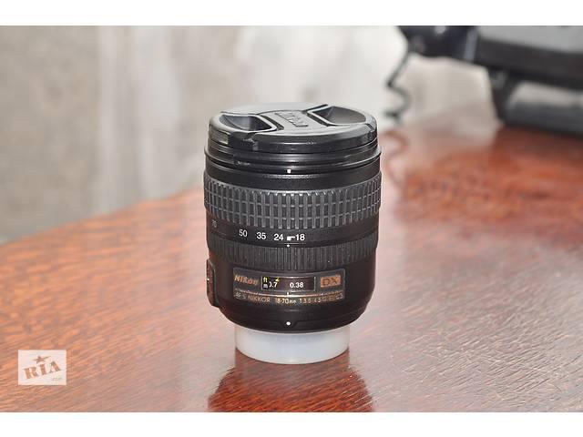 купить бу Nikon 18-70 1:3.5-4.5G ED в Ровно