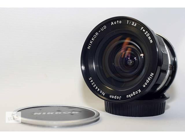 Nikon 20mm f/3.5 NIKKOR-UD Auto UltraWide- объявление о продаже  в Новограде-Волынском