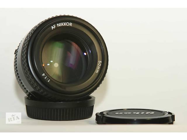 Nikon AF Nikkor 50mm f/1.4 MK II Japan- объявление о продаже  в Новограде-Волынском