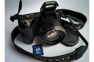 б/у Полупрофессиональные фотоаппараты Nikon CoolPix L110 Black