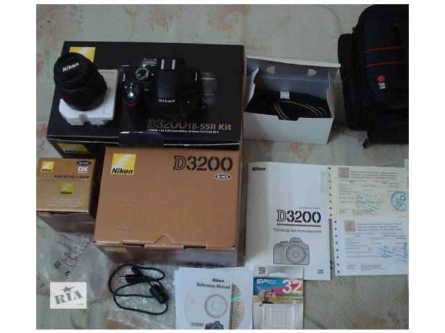 Nikon D3200\18-55VR- объявление о продаже  в Трускавце