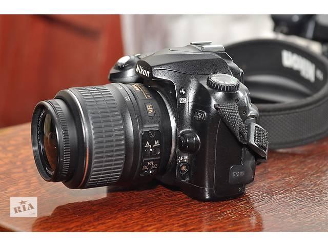бу Nikon D50 + объектив 18-55 в Ровно