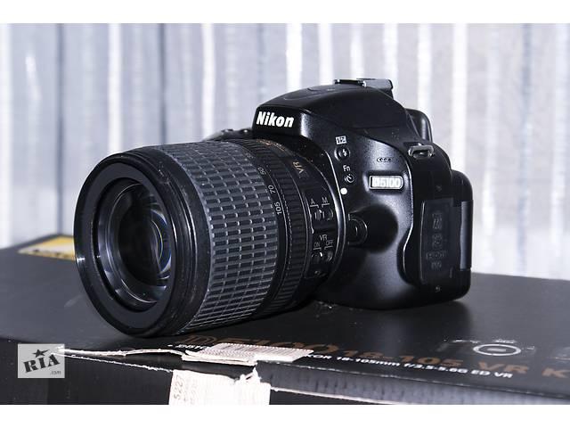 купить бу Nikon d5100 18-105mm в Киеве