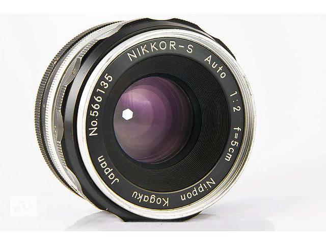 Nikon Nippon Kogaku Japan Nikkor-S Auto 50мм-2,0.Коллекционный.- объявление о продаже  в Боровой